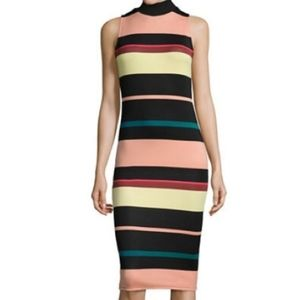 5/$30 Striped Turtleneck Dress